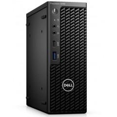 Dell Precision 3240 Compact PC - Intel I7-10700, 16GB DDR4, 1TB NVMe, 4GB NVidia Quadro p1000, vPro, Win 10 Pro, 240W PSU, 3 Years Onsite Warranty (11CJYJT73)