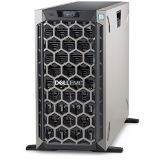 """Dell PowerEdge T640 Server ----- 16 x 2.5"""" Hot Plug,  2 x Xeon Gold 5217,  128GB 3200MHz, 2 x 240GB M.2,  2 x  960GB SSD, 8 x 2.4TB 10KRPM, PERC H740P,  2 x 1100W,  DELL 5 YEARS NEXT BUSINESS DAY ON SITE SUPPORT (11AOH82ZRB3)"""